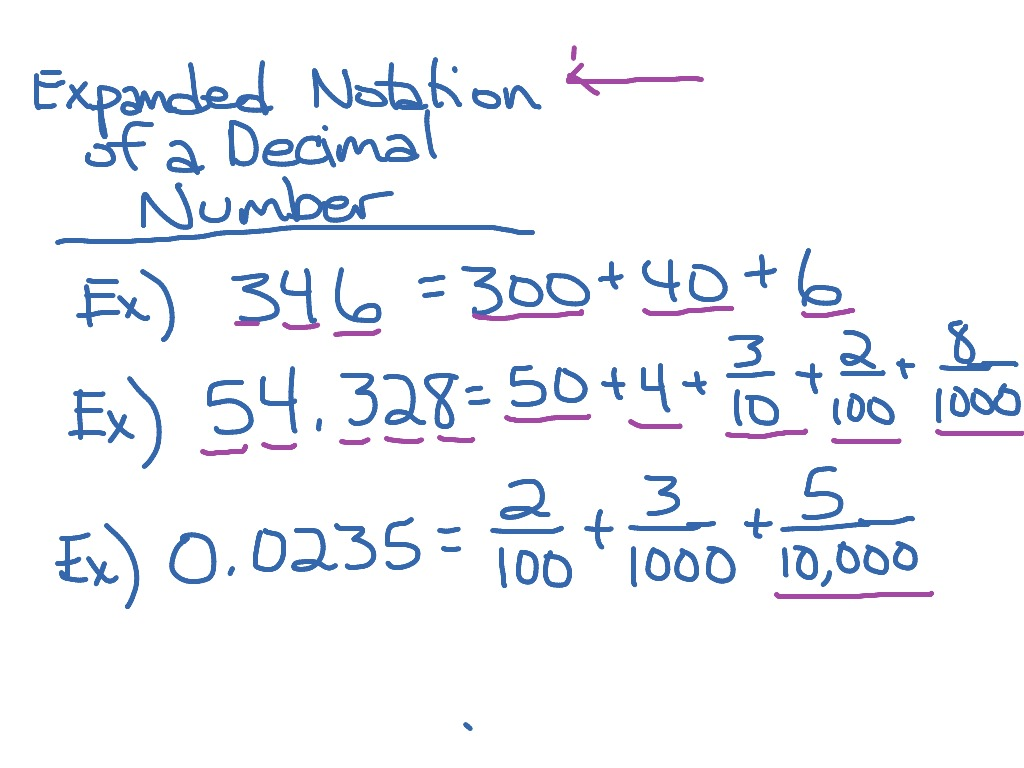 Worksheet Expanded Notation With Decimals Worksheet Fun Worksheet Study Site
