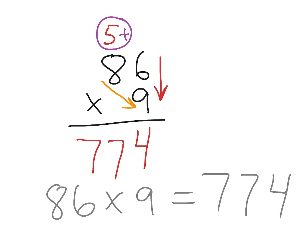 Multiply 2 Digit Numbers With Regrouping