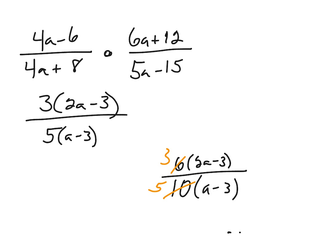 Reducing Fractions With Variables