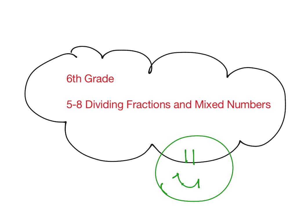 5 8 Dividing Fractions And Mixed Numbers