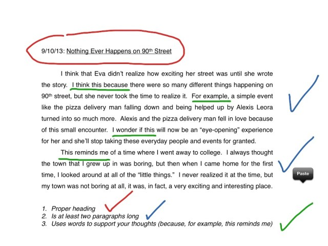 How To Write a Journal Entry  english, Writing, Reading  ShowMe