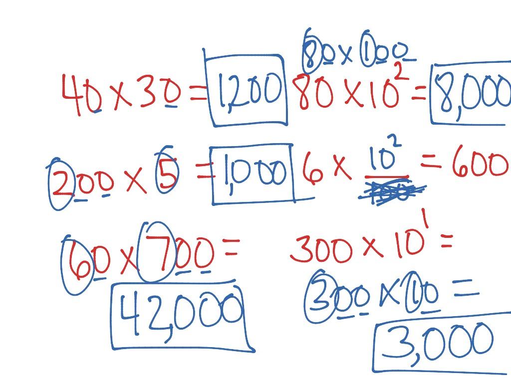 1 5 Basic Facts Amp Multiplication Patterns