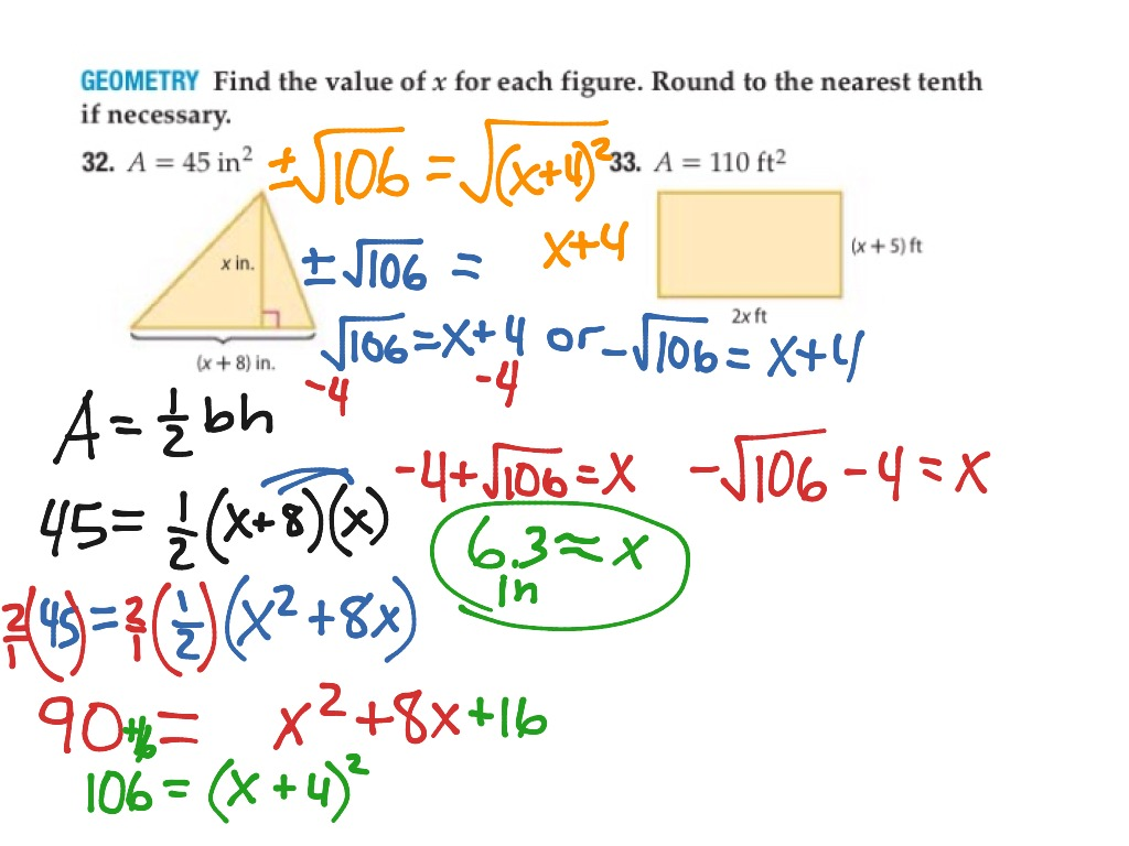 32 P577 Completing The Square