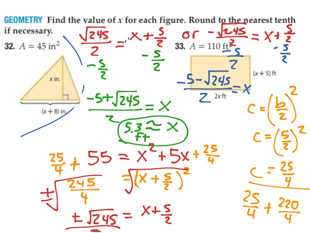 33 P577 Completing The Square