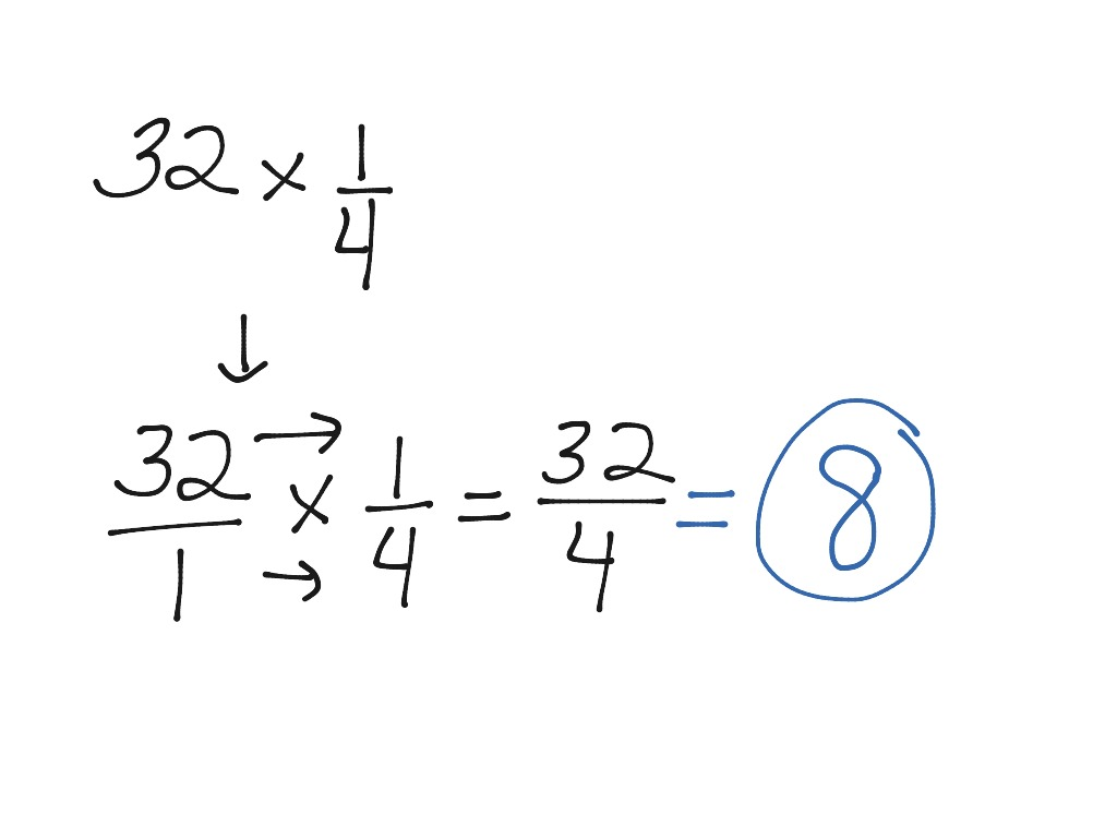 Multiplying Fractions Step By Step