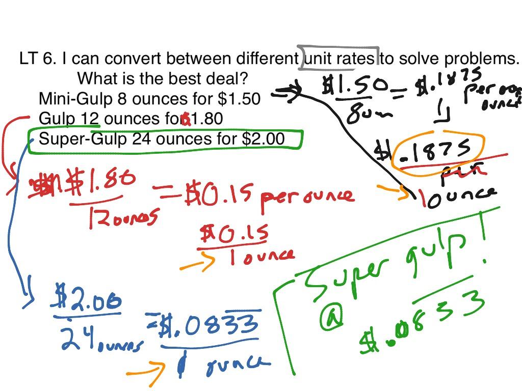 Ratios Proportions And Percent Part 2
