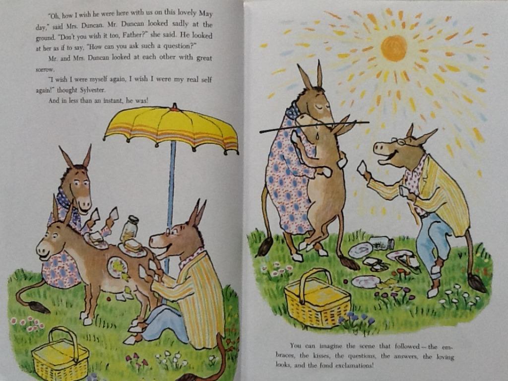 Theme Sylvester And The Magic Pebble Read Aloud
