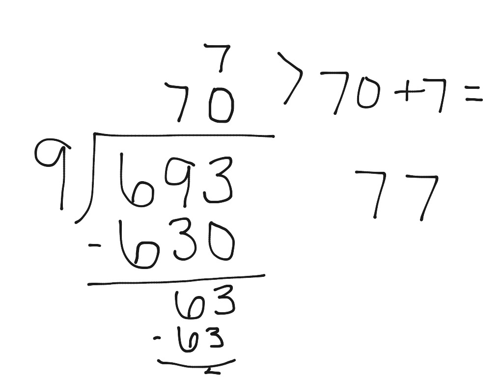 Expanded Notation Method Of Division