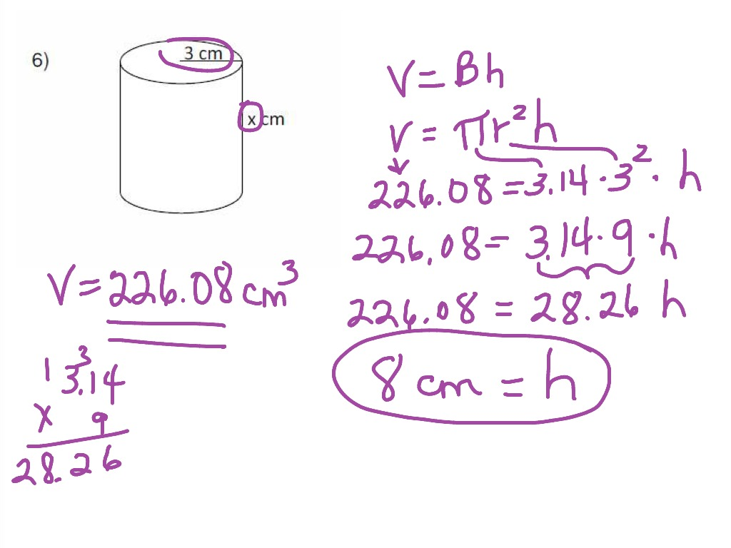 Volume Of A Hexagonal Cylinder