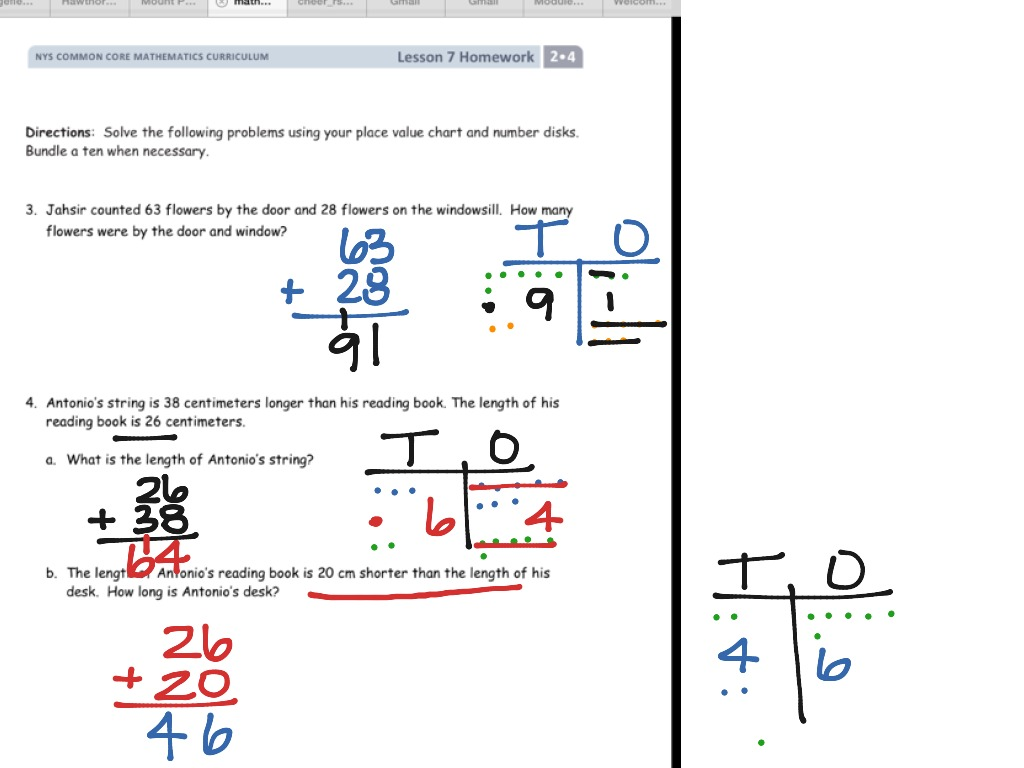 Engageny Math Grade 5 Module 3 Lesson 7