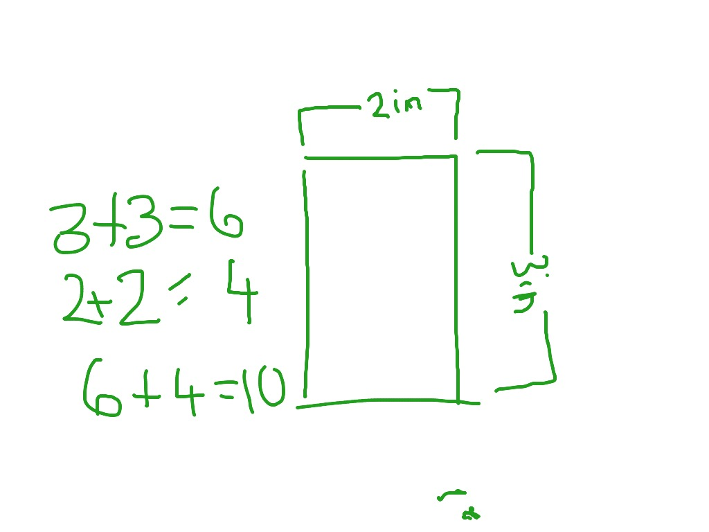 How To Find Out The Perimeter Of A Rectangle