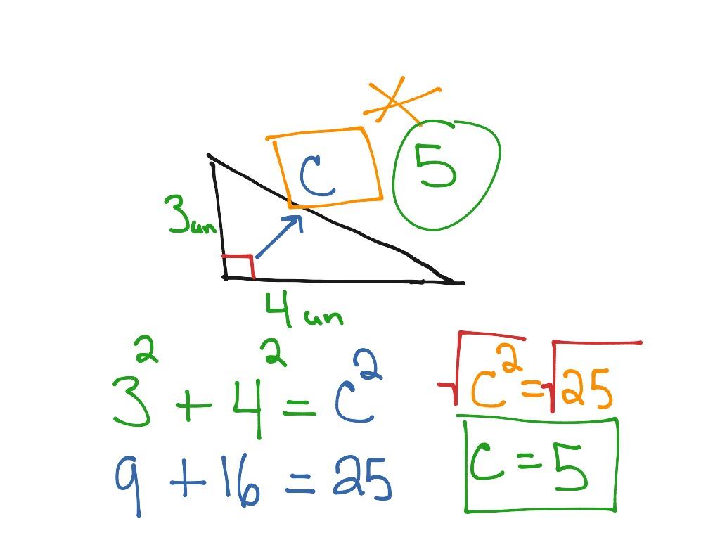 Into To Pythagorean Theorem