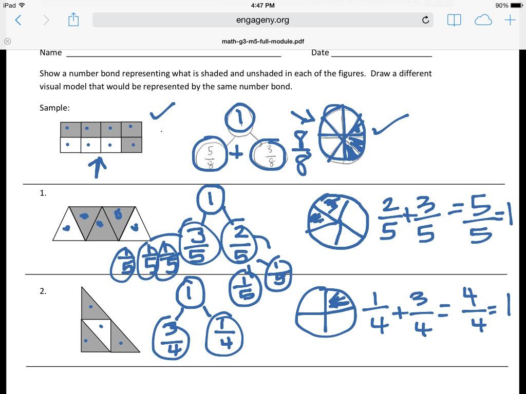 Math Worksheet Number Bonds To 10