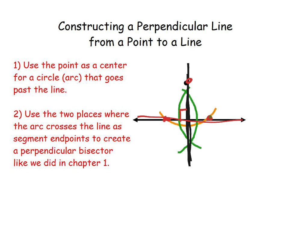 3 6 Constructing Parallel And Perpendicular Lines