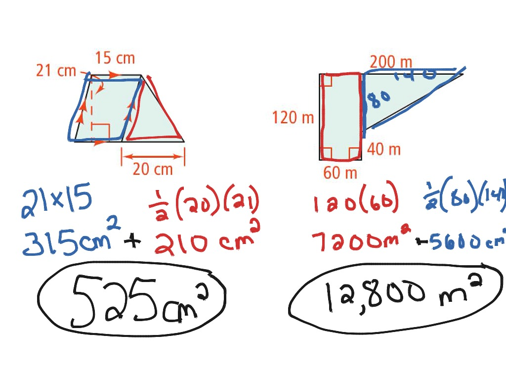 10 1 Area Of Triangles And Parallelograms
