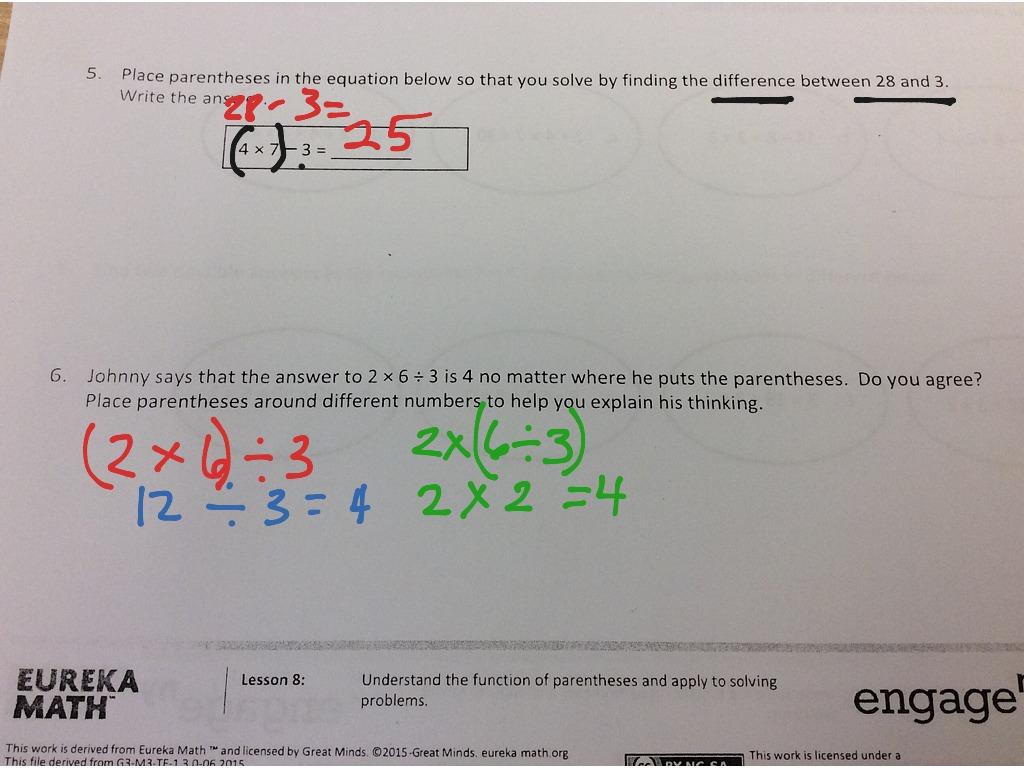 Eureka Math Lesson 2 Homework 3 3