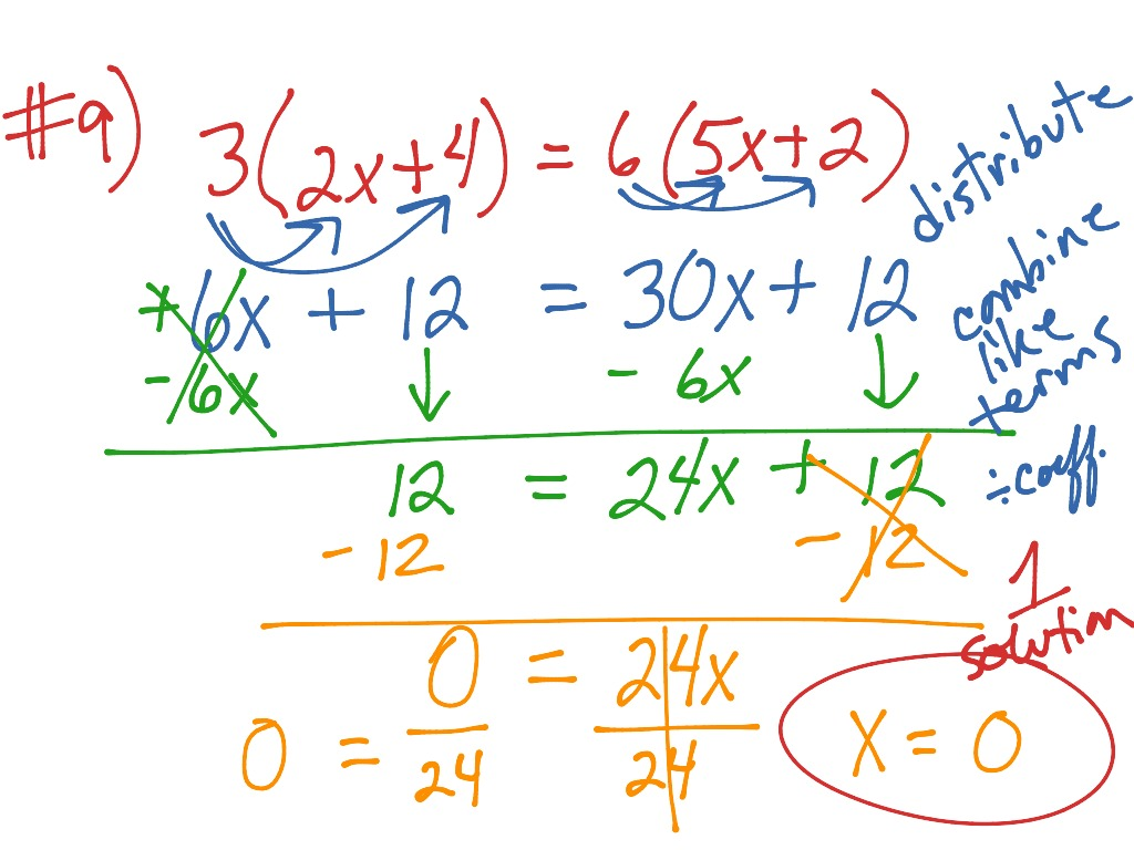 Sb Course 3 Page 127 Solving Equations With Variables On
