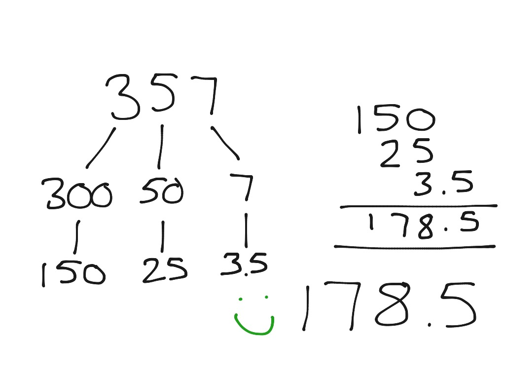 Halving Odd Numbers