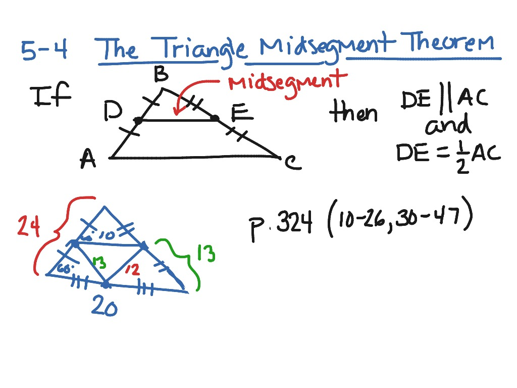 Worksheet Midsegments Of Triangles Worksheet Worksheet