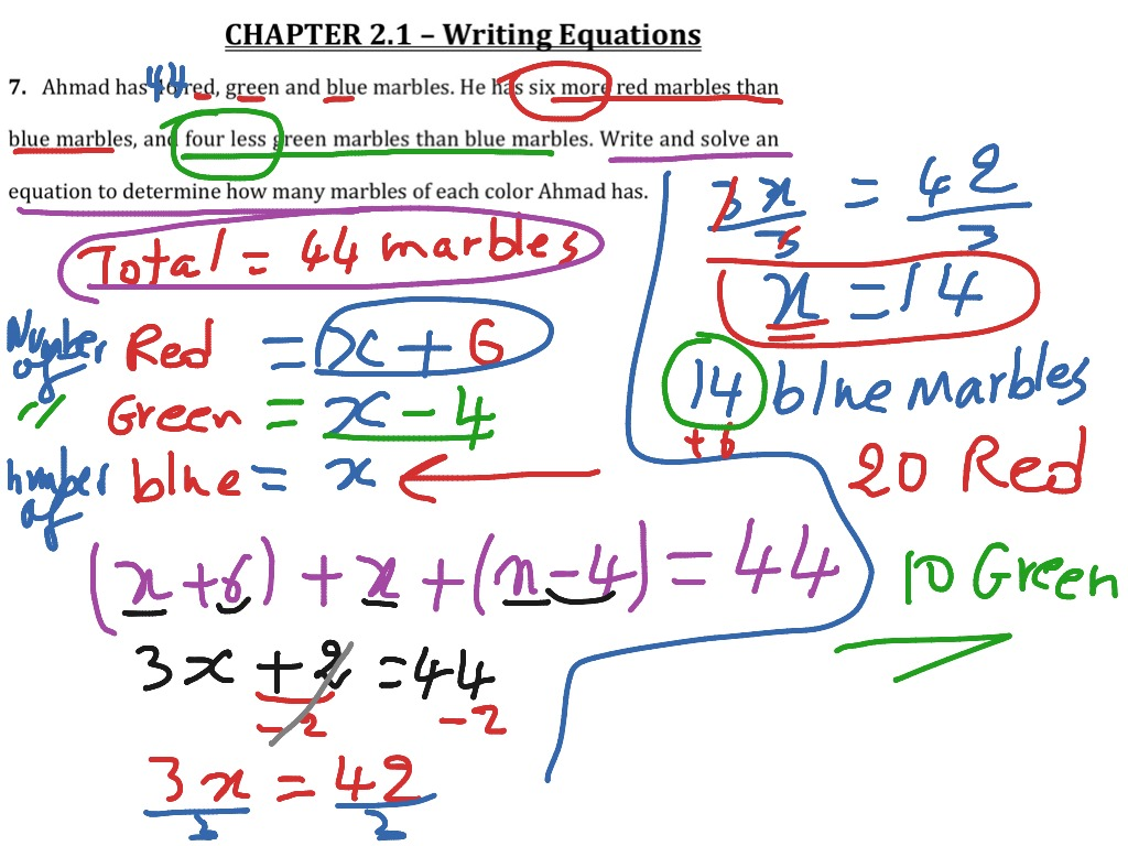 Algebra 2 Multi Step Equations With Fractions