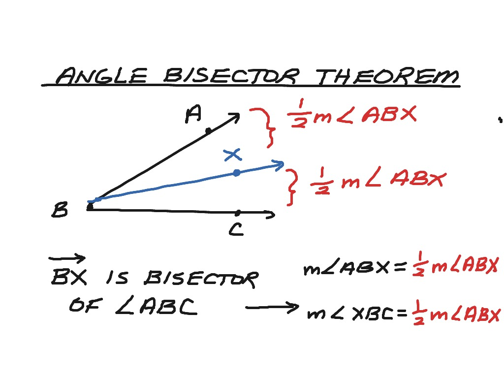Proof Exterior Angle Bisector Theorem Triangle Angle