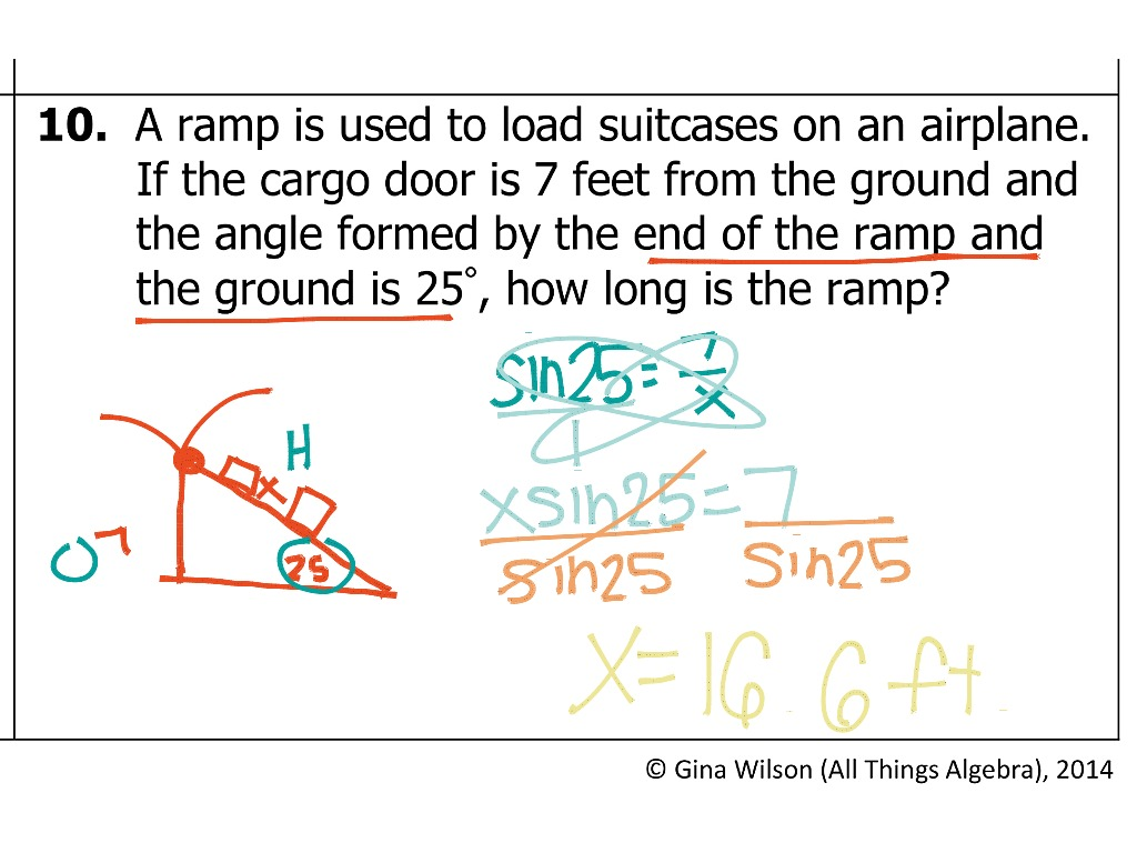 8 3 Trigonometry Ratios Amp Finding Missing Sides