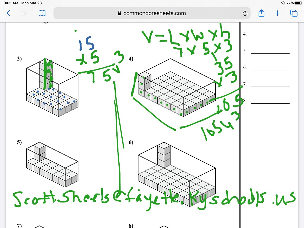 Finding Volume With Unit Cubes