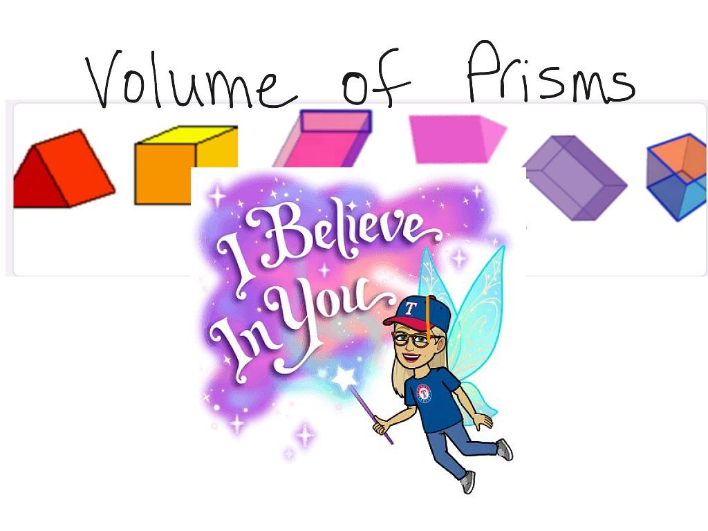 Week 7 7th Grade Volume Of Prisms