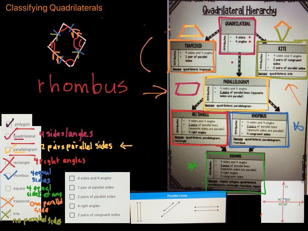Classifying Quadrilaterals