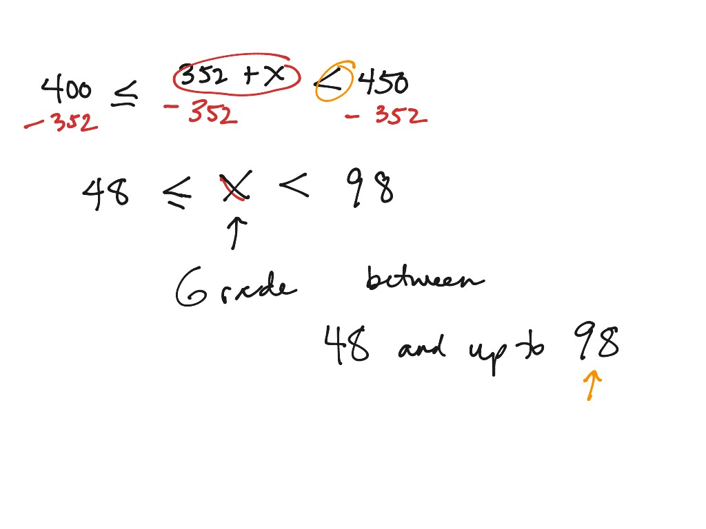 6 5 Compound Inequality Word Problem