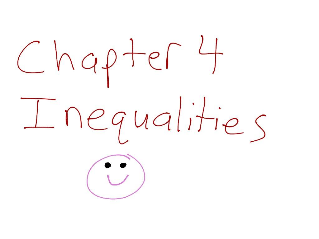 6th Grade C 4 Inequalities