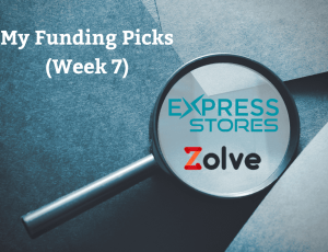 Funding Zolve and Express stores