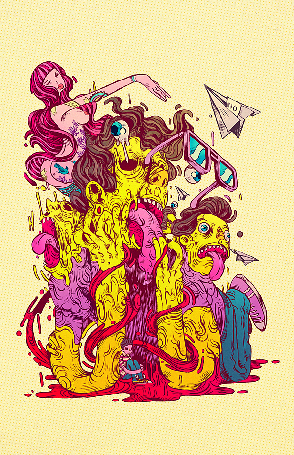 Illustrations By Raul Urias Showme Design