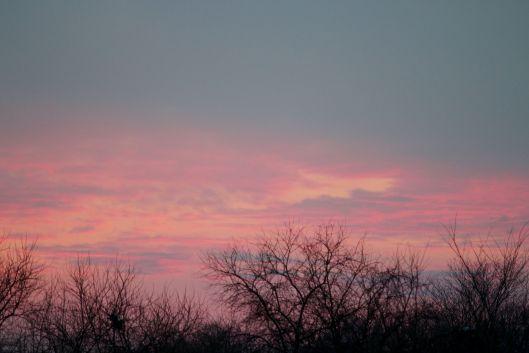 Missouri sunset - December 29, 2015.