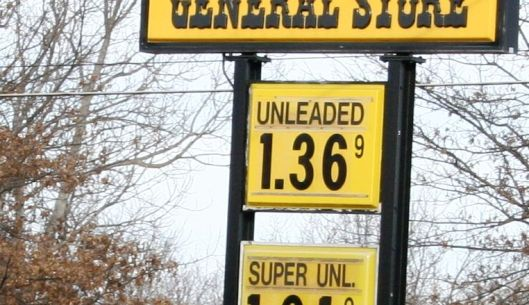 The retail price of gasoline in west central Missouri - January 30, 2016.