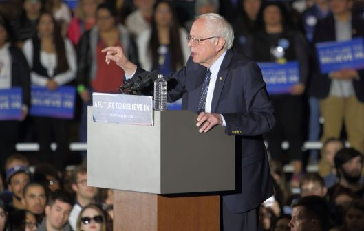 Bernie Sanders [2016 file photo].