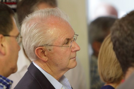 Former Governor Bob Holden (D) in Columbia, Missouri - August 5, 2016.