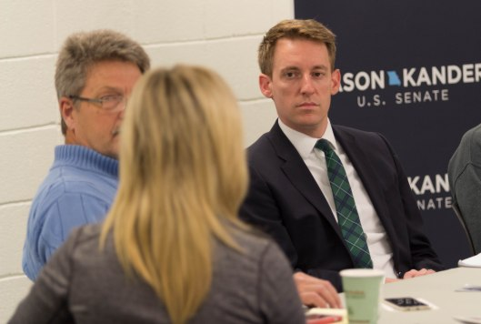 Jason Kander (D) - October 7, 2016.