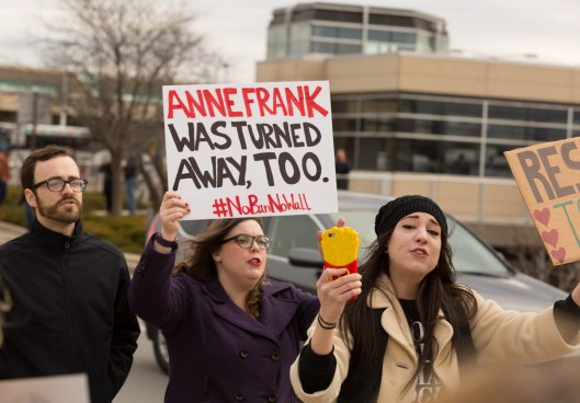 Anne Frank was turned away, too.