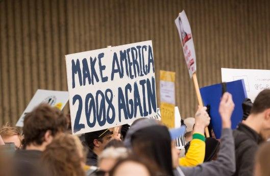 Make America 2008 again.