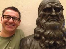 Vinci - The great man himself