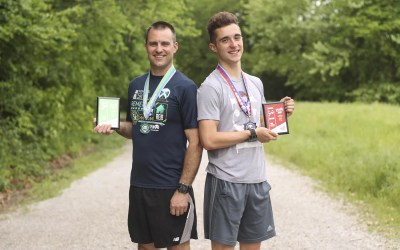 Why I Run: Father, Son Find Common Goal in Running and Training