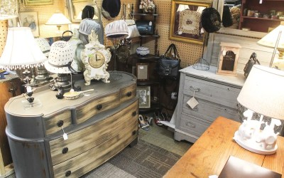 Somewhere in Time Antiquities: Mother and Son Team Sell Treasures of Yesteryear