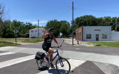 Why I Ride – Living Life to the Fullest: Shelly Dreyer relies on self-motivation to complete 240-mile Katy Trail