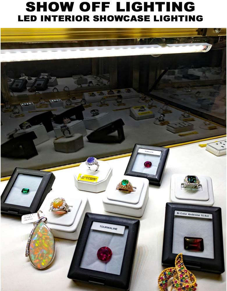 dazzling led display case lights led
