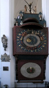 Astronomical Clock in Gdansk