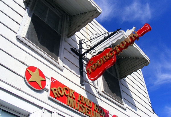 Youngtown Rock and Roll Museum entrance