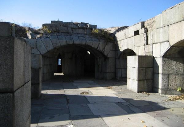 Fort Totten Ruins