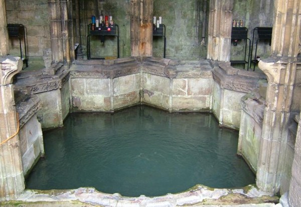 St. Winifride's Well water