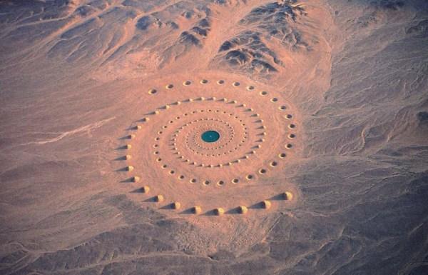 Дыхание пустыни с высоты птичьего полета